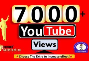 195Instant Start 7000+ YouTube Video Views to REAL Viewers