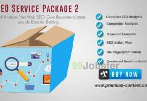 4550Deep SEO Analysis SEO Service Excellent Package 2