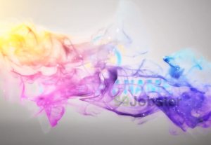 4398I will make fantastic colorful particles smoke logo reveal intros