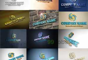 4343I will put your logo on 15 photorealistic 3D mockups
