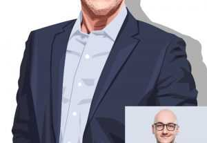 6076i will draw amazing vector portrait illustration from your photo